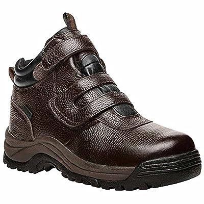 Propet Men's Cliff Walker Strap Boot Bronco Brown 15 X (3E) & Oxy Cleaner Bundle