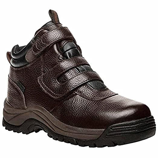 Propet Men's Cliff Walker Strap Boot Bronco Brown 12 X (3E) & Oxy Cleaner Bundle