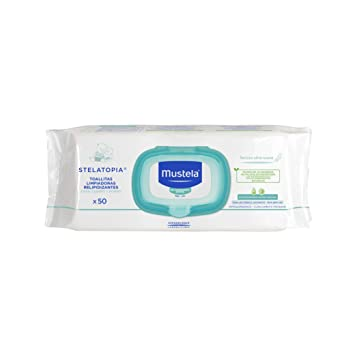Mustela Stelatopia 50 Replenishing Cleansing Wipes