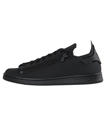 d7bd6080f Mens Y-3 Stan Zip Trainers in Black- Lace Fastening- One Piece Upper ...