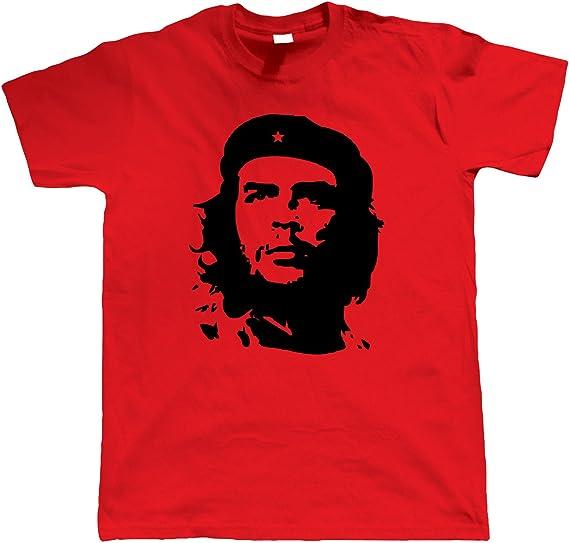 Red Star T-Shirt Communist Soviet Cuba CCCP Political revolution Tee Top S-2XL
