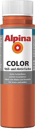 Alpina Color – Tinte para pintura, pared color, Italian Red, 250 ...