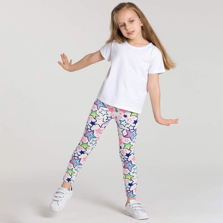 Adorel Leggings Imprim/és Pantalon /à Motifs Filles Lot de 3
