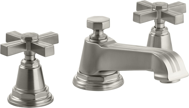 Kohler K R76216 4d Bn Rubicon Widespread Bathroom Sink Lavatory Faucet Vibrant Brushed Nickel Tools Home Improvement Bathroom Sink Faucets Wudfurniture Com
