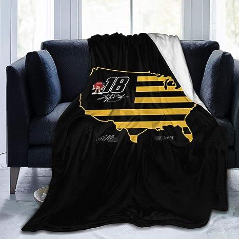 FGHFGHF Martin Truex JR Unisex Infant Blankets Soft Thick Plush Knit Baby Girls Boys Stroller Wraps,30 x 40 Inch