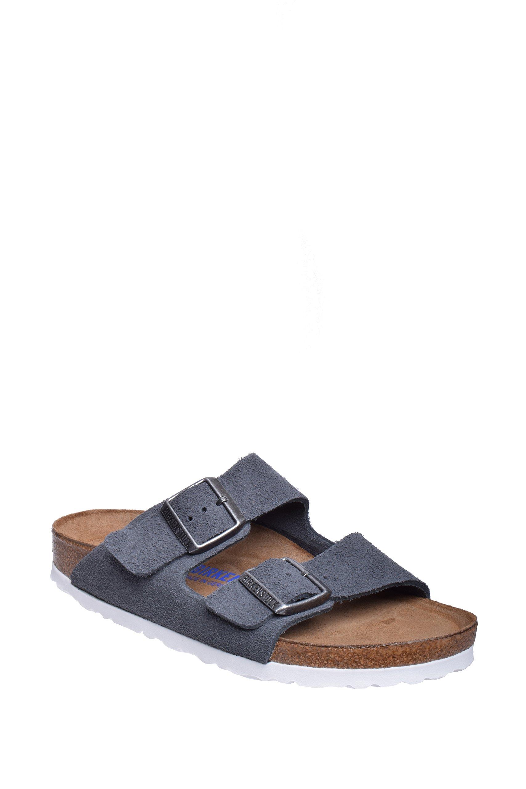 Birkenstock Unisex Arizona Stone Suede Sandals - 10-10.5 2A(N) US Women/8-8.5 2A(N) US Men