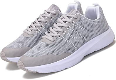 Zapatillas Deportivas de Malla para Mujer, Transpirables, Ligeras, Color Gris, Informales, para Entrenamiento, Correr: Amazon.es: Zapatos y complementos