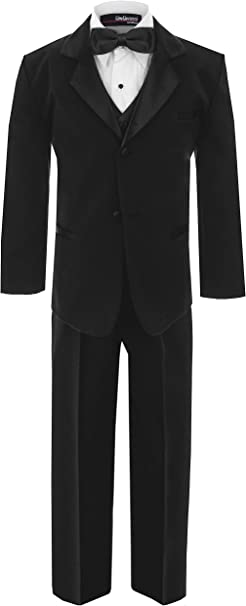 Gino Giovanni Boys Formal Tuxedo Suit Dresswear Set