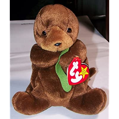 Seaweed the Otter - Ty Beanie Babies: Toys & Games
