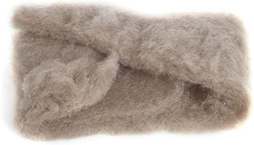 CHOCOLATE Carded Extra Fine Merino Wool   Carded Batts  19 microns  DyeingHouseGallery DHG  Color