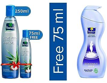 Buy Parachute Advansed Aloe Vera Enriched Coconut Hair Oil, 250ml