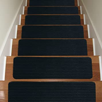 Carpet Stair Treads Non-slip Set of 13 Indoor Stair Tread Rugs ...