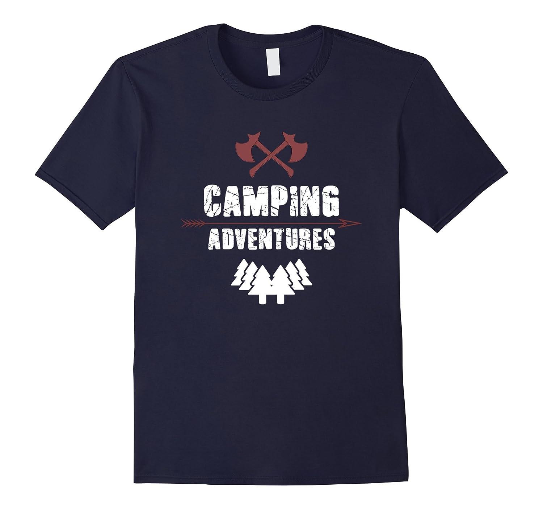 Camping Adventures Funny Camp T-Shirt-Art