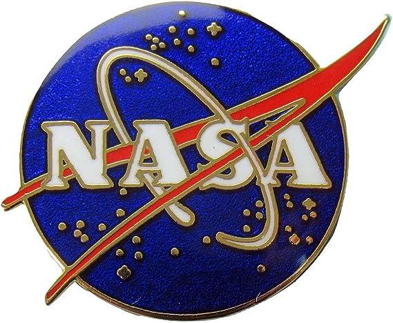 Nasa Vector Logo Pin oficial NASA Programa Espacial: Amazon.es ...