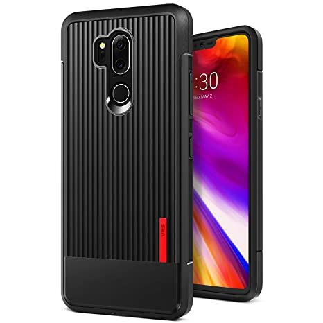 competitive price c7254 e572b LG G7 Case, LG G7 ThinQ Case :: VRS :: Slim Full Body Protective Armor ::  Ultra Thin Fit :: Waved Texture Reinforced Grip :: for LG G7 ThinQ (Single  ...