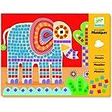 Mosaicos del elefante y el caracol
