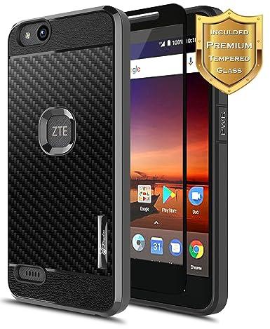 Amazon.com: ZTE Fanfare 3 Funda (Z852), ZTE Avid 4 Funda ...