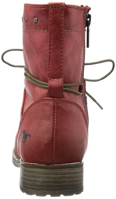 Mustang 1139-610-5, Bottes femme, Rouge (Rot), 37 EU