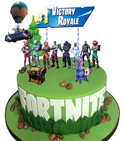Amazon MORDUN Video Game Cake Toppers Kit