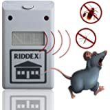 Electronic Ultrasonic Rat Mouse Repellent Anti Mosquito Repeller Rodent Pest Bug Reject Mole Repeller EU plug