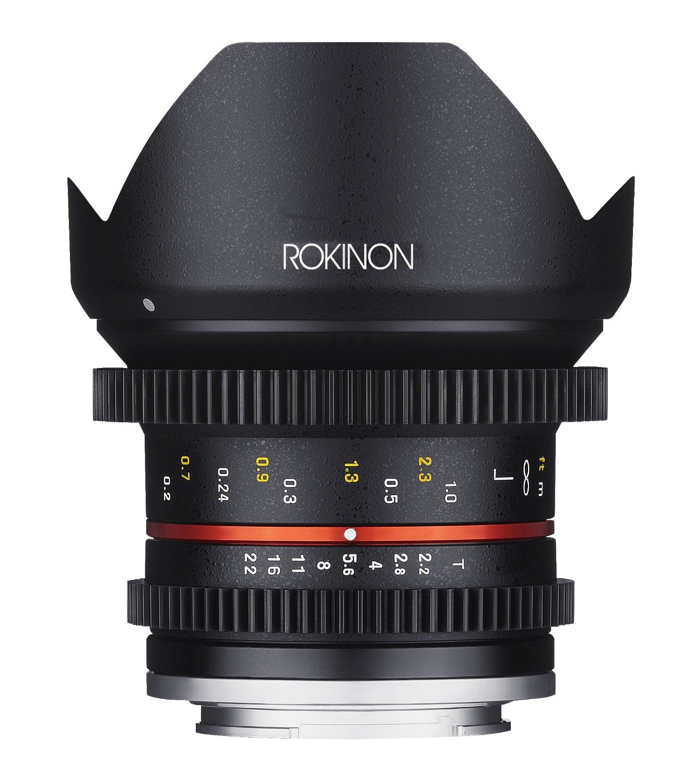 Rokinon Cine CV12M-FX 12mm T2.2 Cine Lens for Fujifilm X-Mount Cameras [並行輸入品]   B019SZDPX6