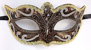 Set of 4 Venetian Masquerade New Years Eve Party Masks Masked Ball Eye Masks