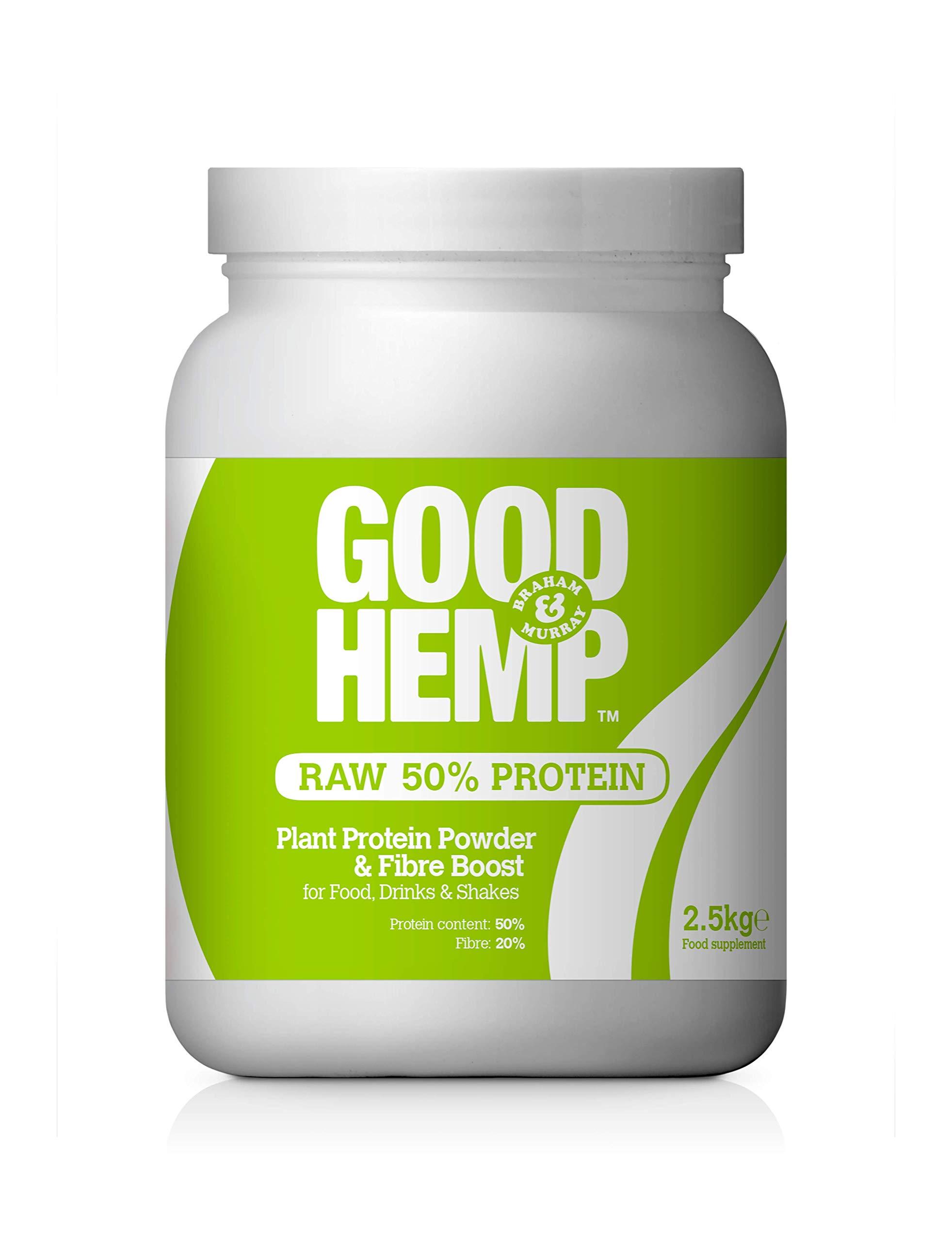 Good Hemp Protein Powder Natural 2.5kg