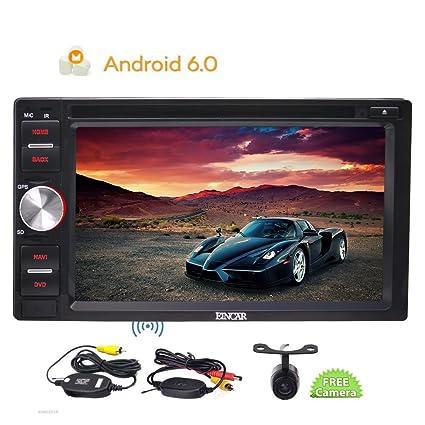 6.2 pulgadas 2 Din Android 6.0 DVD para el coche GPS en sistema est