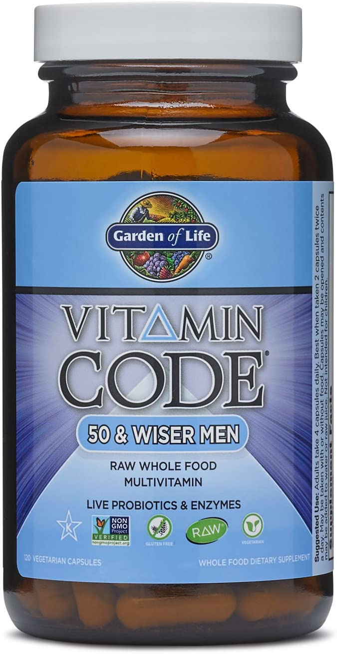 Garden of Life Vitamin Code – 50 Wiser Men