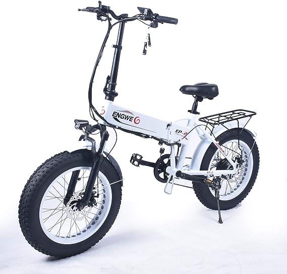 ENGWE EP-2 Outlaw Fat Tire Bicicleta eléctrica - Plegable ...