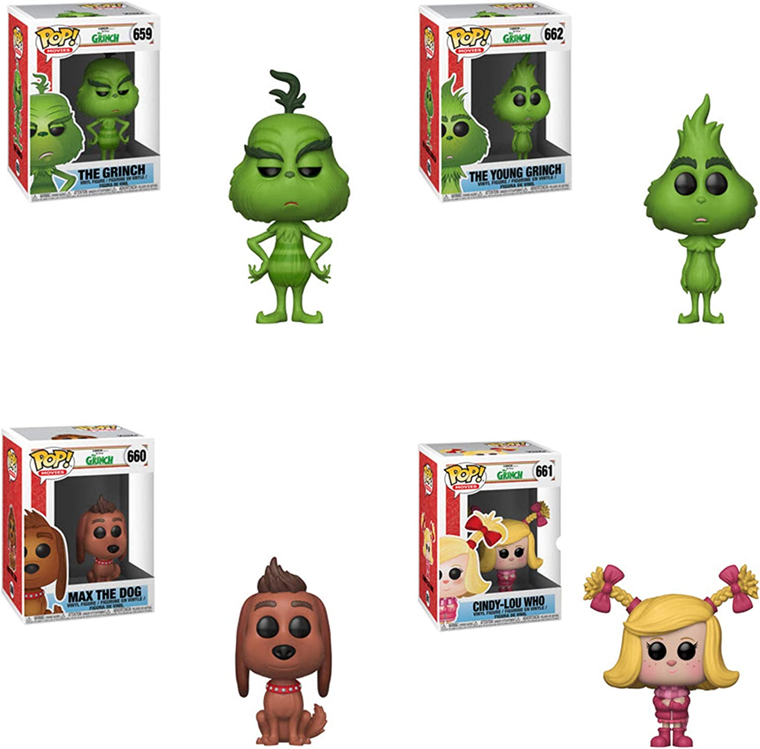 Multicolor Funko Pop Animation The Grinch Movie The Young Grinch Collectible Figure