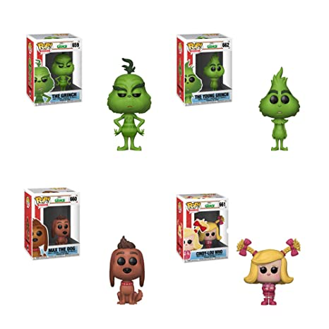 fdb2557e588 Image Unavailable. Image not available for. Color  Funko Pop! Movies  The  Grinch Set ...