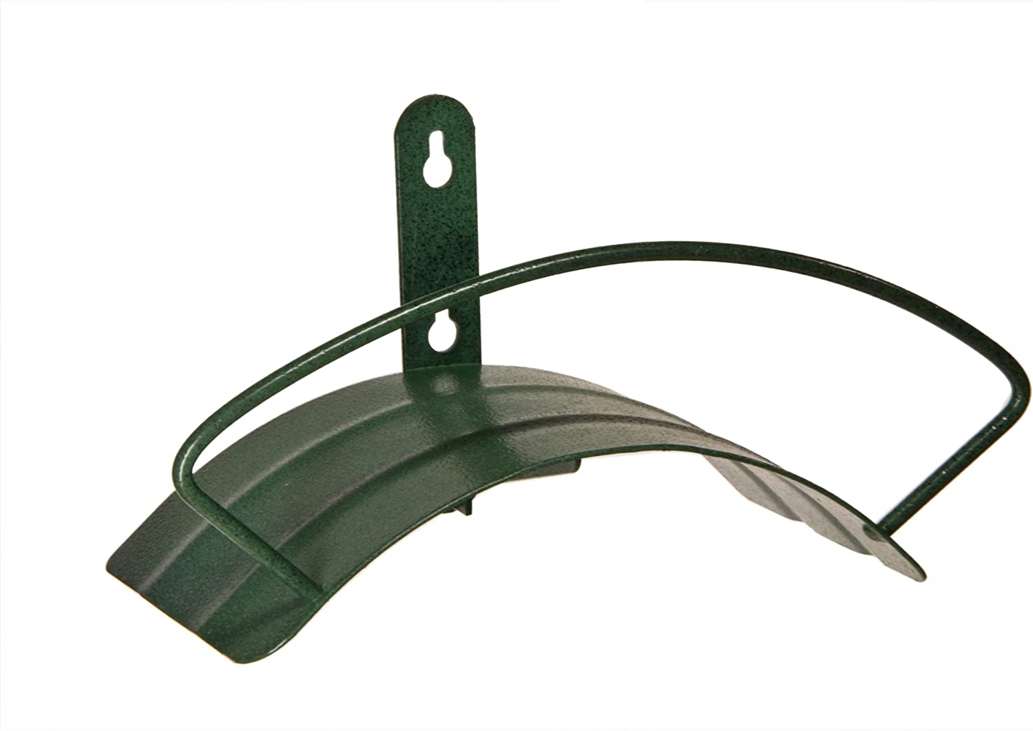 Yard Butler Deluxe Heavy Duty Wall Mount Hose Hanger Easily Holds 100' Of 5/8' Hose Solid Steel Extra Bracing And Patented Design In NEW COLORS and DECORATIVE DESIGNS IHCWM-1 Textured Forest Green : Garden Hose Parts : Garden & Outdoor