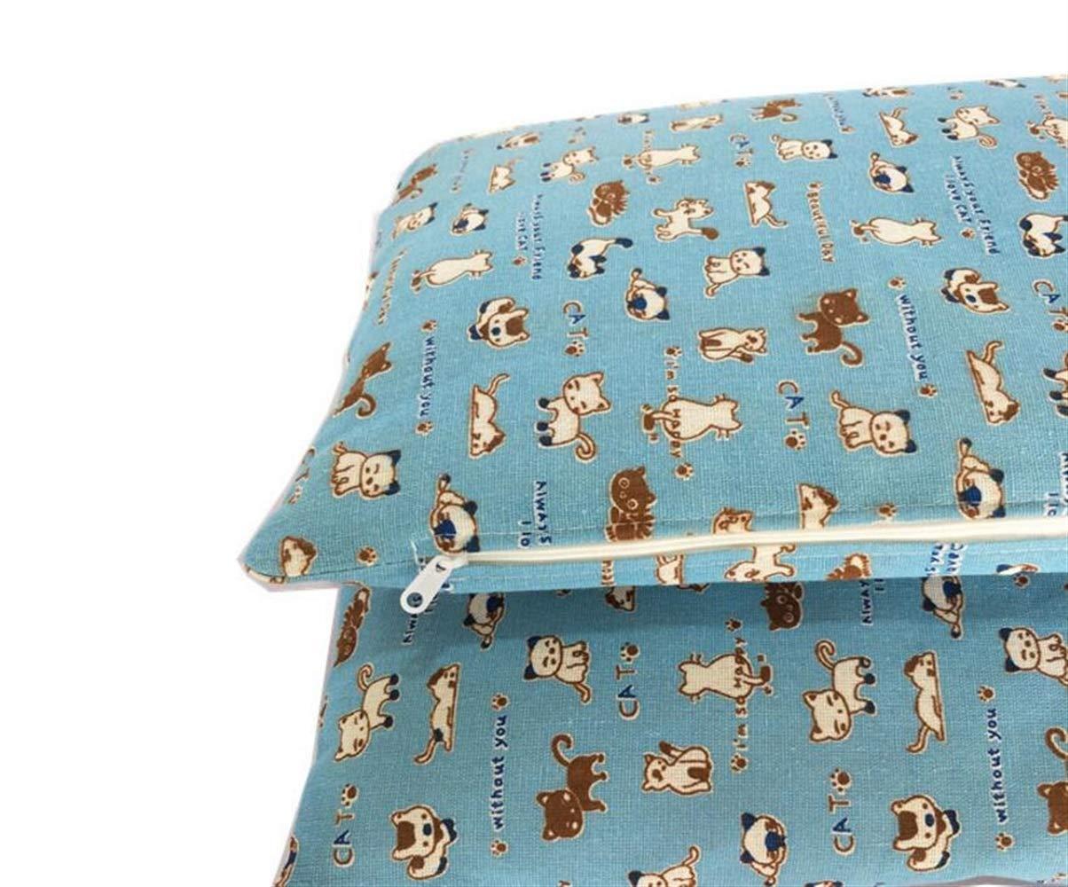 Huihuger Pet Blanket Pad Estraibile per Cani (Mat, Blu)