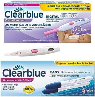 Clear blue ovulacion primera orina