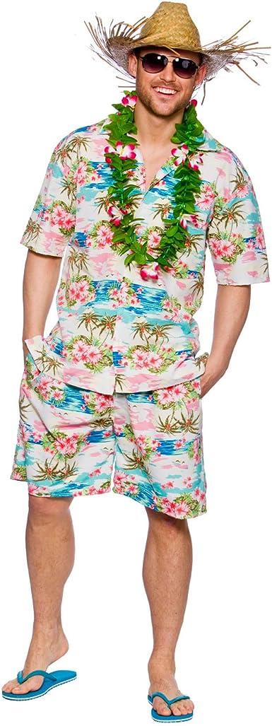 Disfraz - Partido hawaiano de Luau para hombre individuo ...