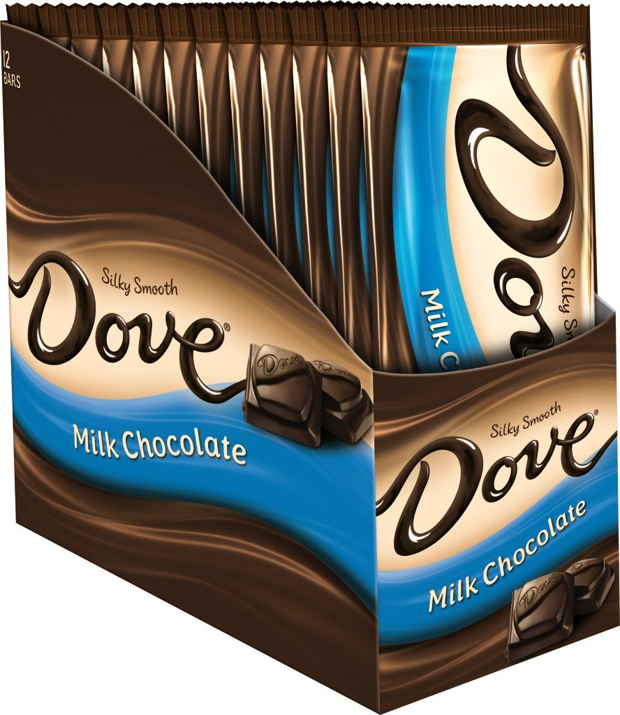 Amazon.com : DOVE Milk Chocolate Sharing Size Candy Bar 3.30-Ounce ...