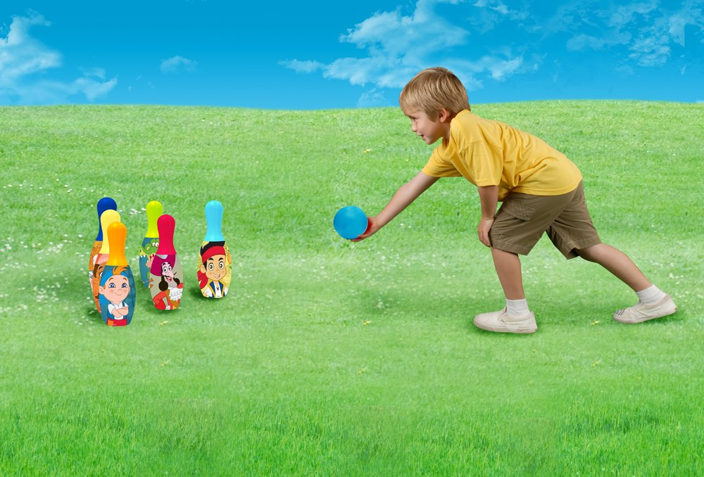 What Kids Want Jake and The Never Land Pirates Licensed Bowling Set What Kids Want 26135JAK