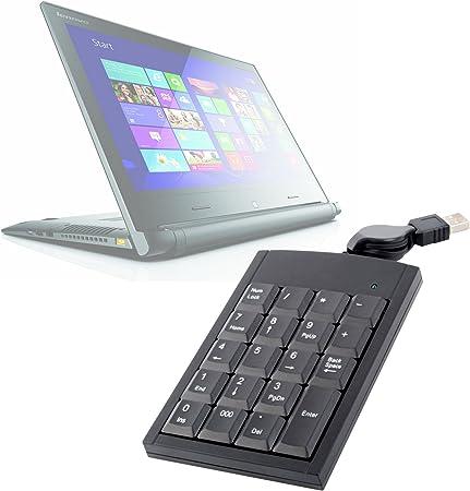Teclado numérico USB, garantía de 2 años para Lenovo IdeaPad ...