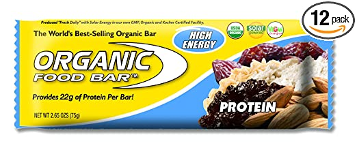 Product thumbnail for Organic Food Bar Protein Bar