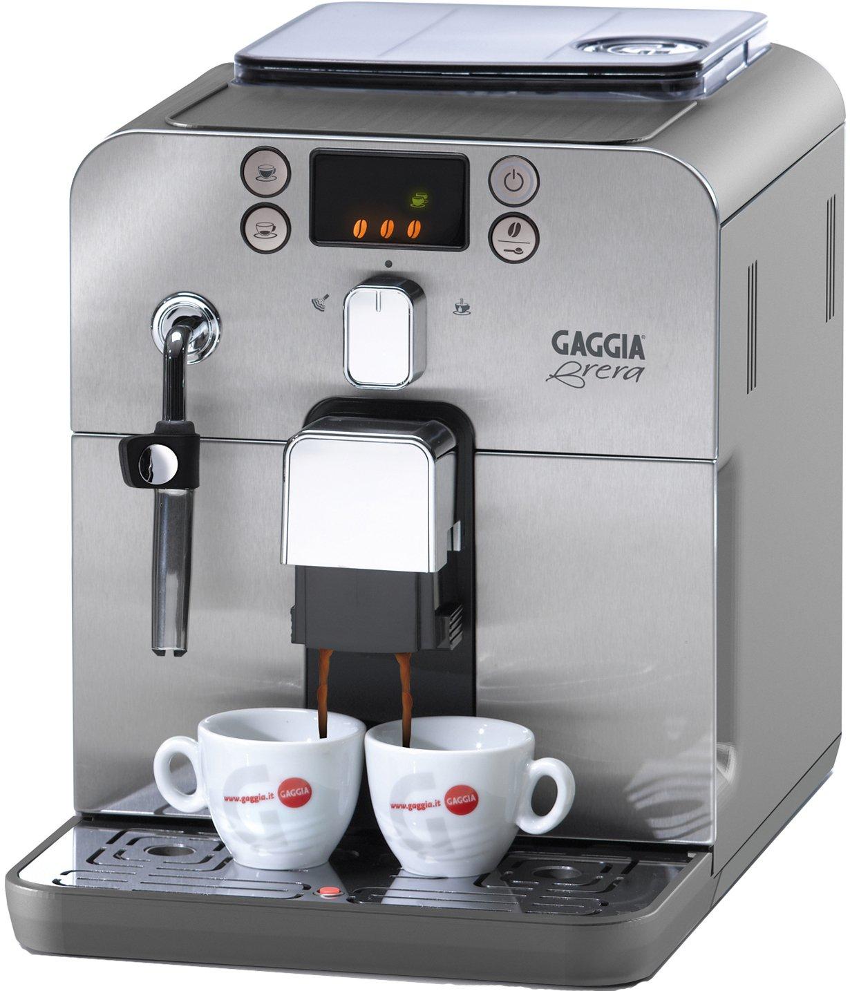 Gaggia Brera Bean To Cup Coffee Machine Amazon Kitchen Home