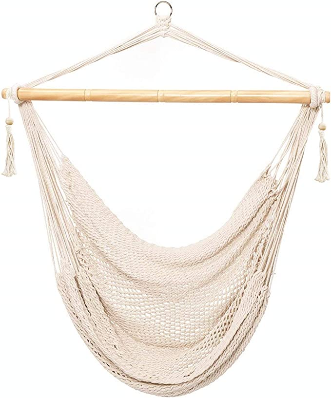 CCTRO Hammock Chair Macrame Swing – Best Hammock Chairs For A Teenage Room