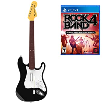 Rock Band 4 Guitar And PS4 Software Bundle [Importación Inglesa]