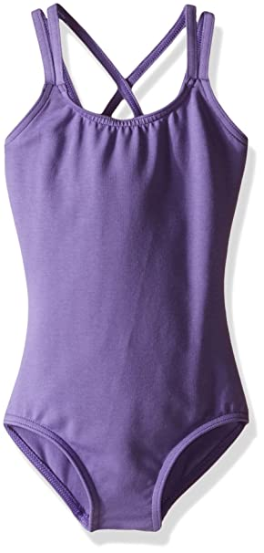 7cf5026a19be Amazon.com  Capezio Double Strap Camisole Leotard - Girls  Clothing