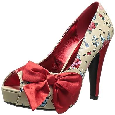 48004d4a35bdd4 Amazon.com | Pleaser Women's Bettie-13 Pump | Heeled Sandals