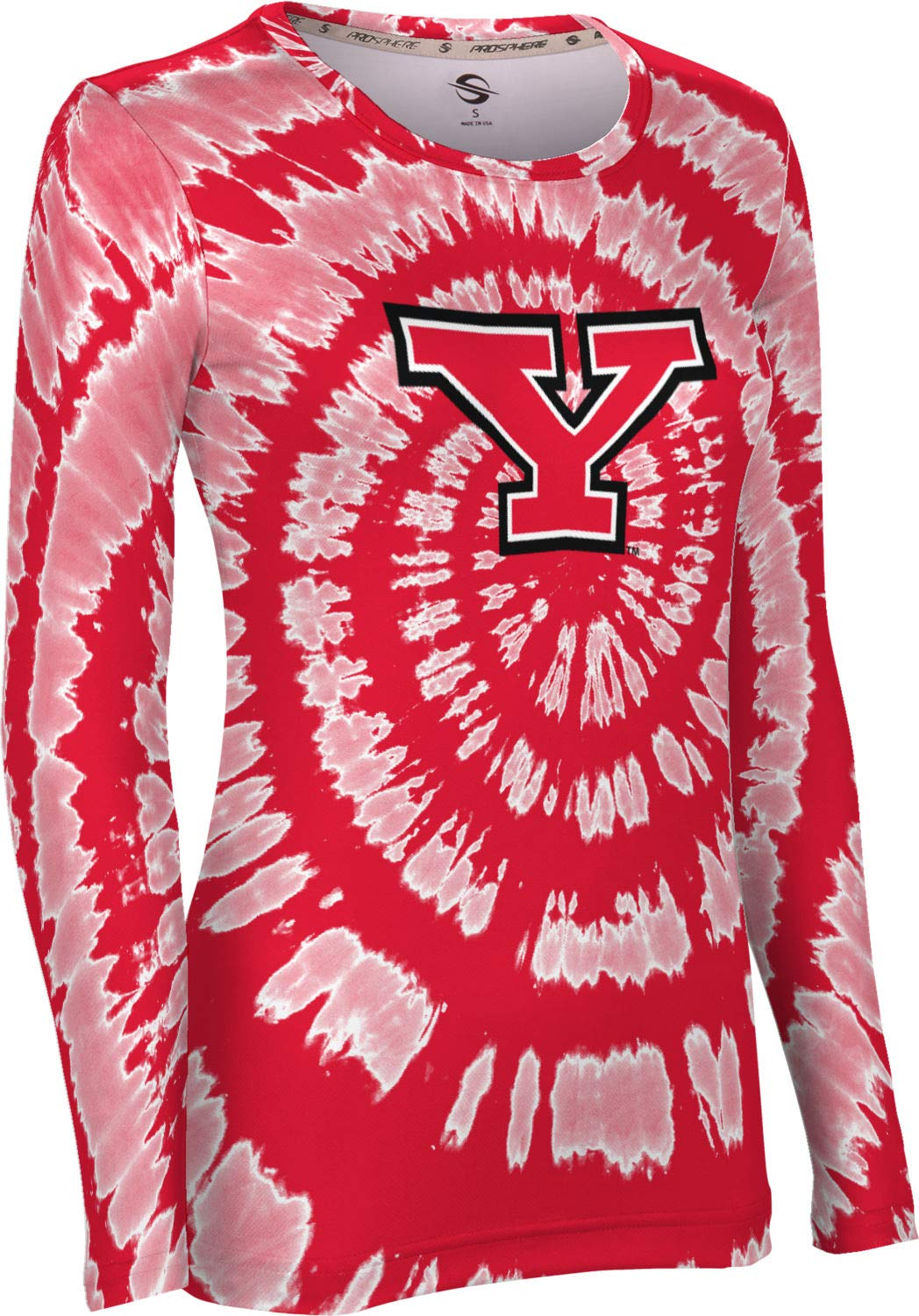 Tie Dye ProSphere Youngstown State University Mens Performance T-Shirt