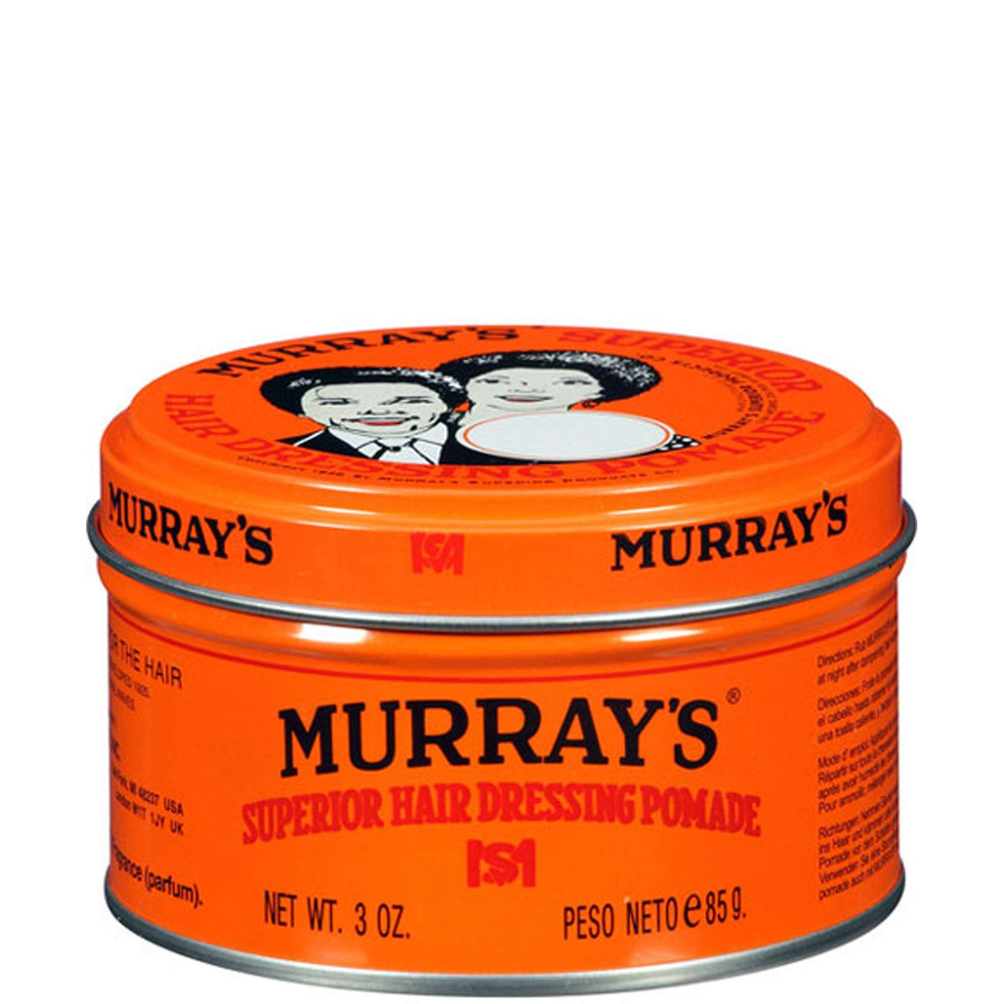 U/S Murrays Hair Pomade Size 3oz U/S Murrays Hair Pomade 3oz