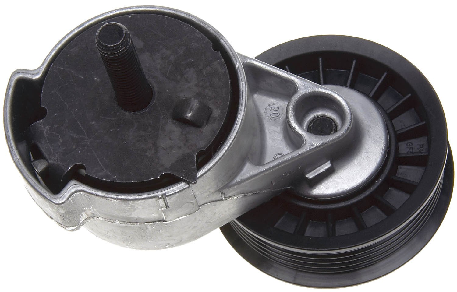 ACDelco 38398 Professional Automatic Belt Tensioner and Flanged Pulley Assembly 38398ACM