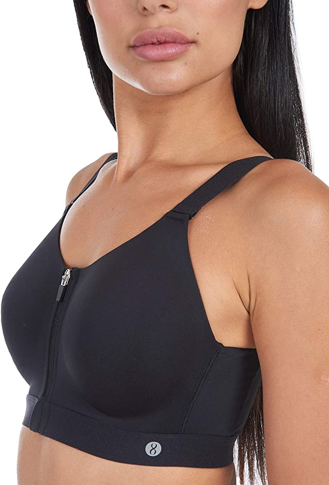 Layer 8 New Womens Performance Max Support Sports Bra
