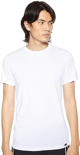 TALLA M. Lee Twin Pack Crew Camiseta 2 para Hombre